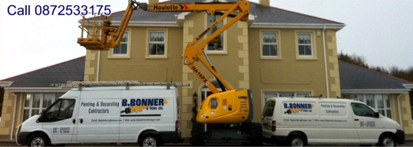 Brian Bonner & Sons Ltd, Painting & Decorating Contractors, Donegal - Call 0872533175